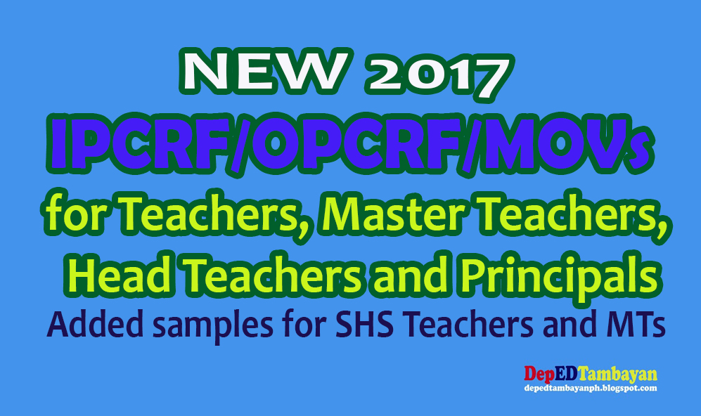 Ceremonial Sch Example Template | New Ipcrf Opcrf Movs For Teachers Mts And School Heads Deped