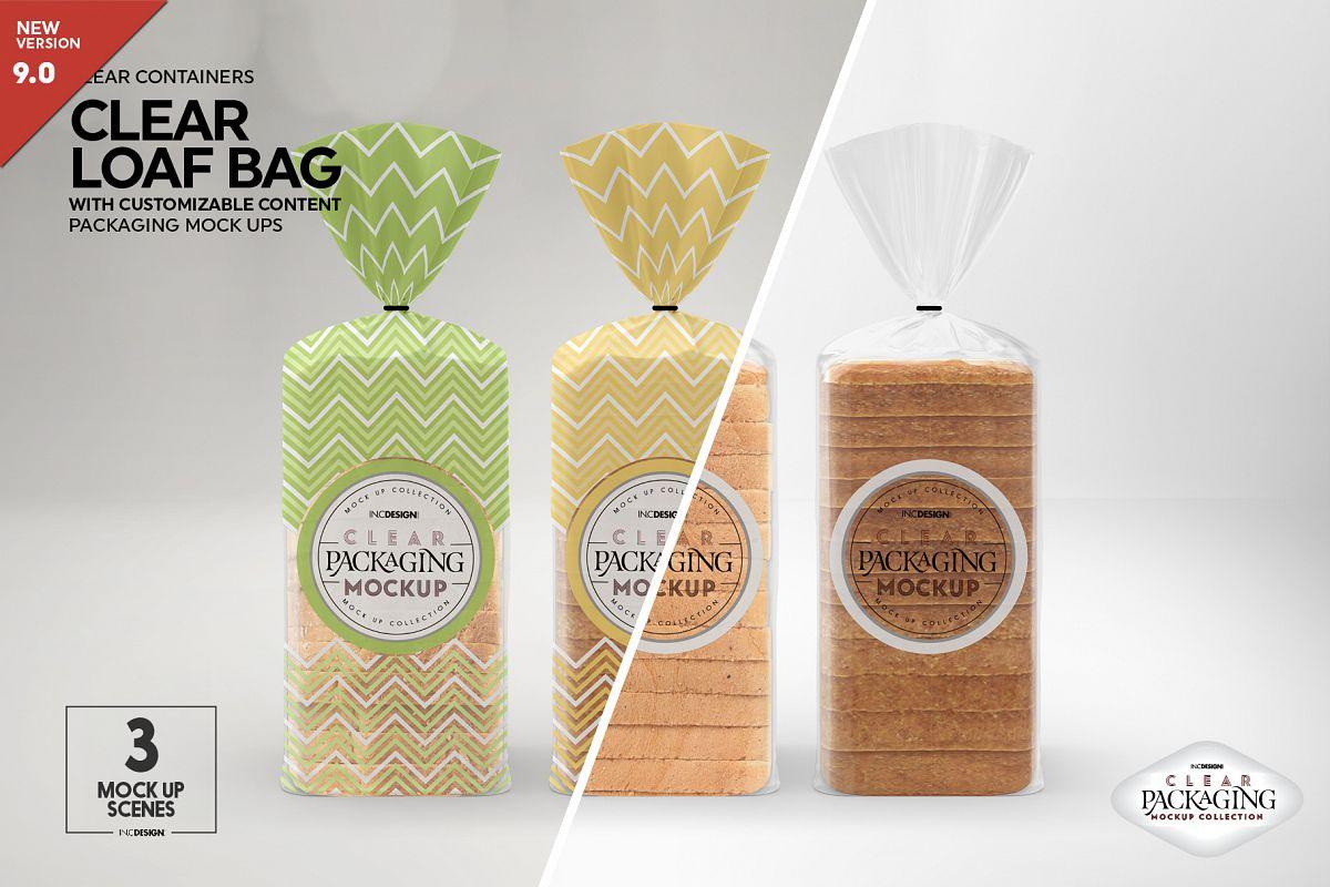 Download 120+ Best Bread Packaging Mockup Templates | Free & Premium
