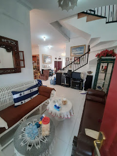 Ruang Tamu Rumah second cantik mulus dan terawat dalam komplek Taman Asoka Asri di Jl. Flamboyan Simpang Pemda Medan