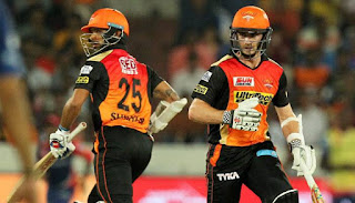 Kane Williamson 89 | Shikhar Dhawan 70 - SRH vs DD 21st Match IPL 2017 Highlights