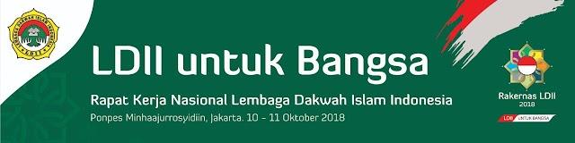 Dua Calon Presiden Pilpres 2019 Jokowo dan Prabowo akan hadir di RAKERNAS LDII  10 - 11 Oktober 2018