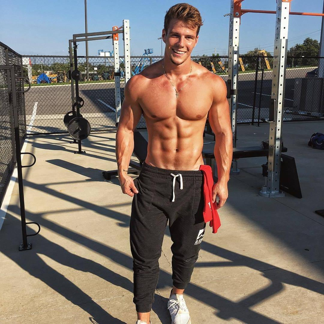 handsome-beefe-shirtless-swole-muscular-hunk-outdoor-gym-workout