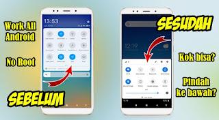 Cara Membuat Quick Setting Di Bawah Layar Android