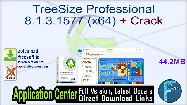TreeSize Professional 8.1.3.1577 (x64) + Crack_ ZcTeam.id