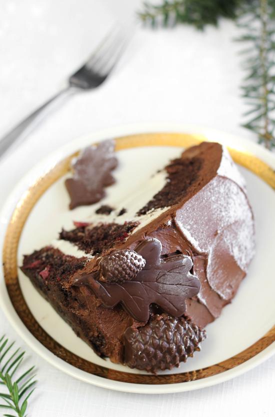 Black Forest Dome Cake Sprinkle Bakes