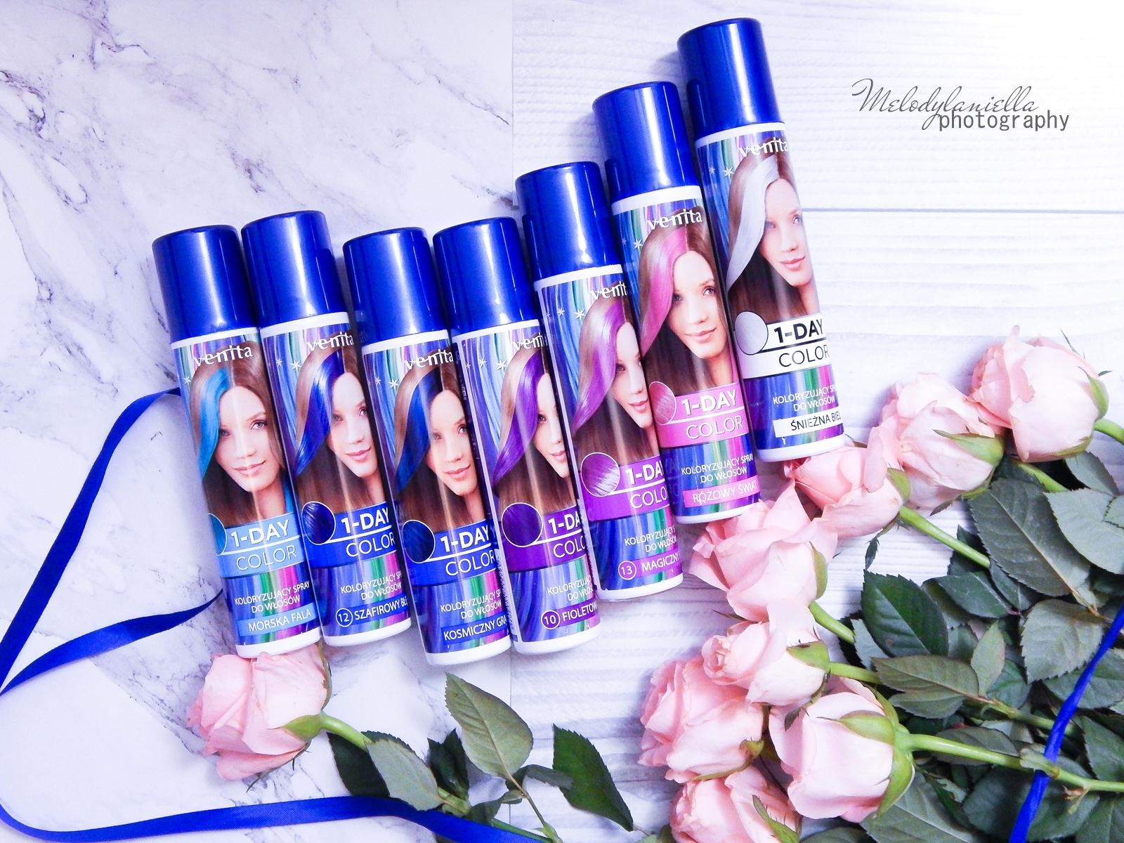 10 venita trendy cream ultra farba recenzja opinie jednodniowa farba do włosów koloryzacja półtrwała różowa turkusowa niebieska farba do włosów kolorowe włosy