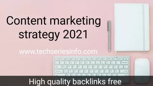 Content Marketing Strategy To High quality backlinks free