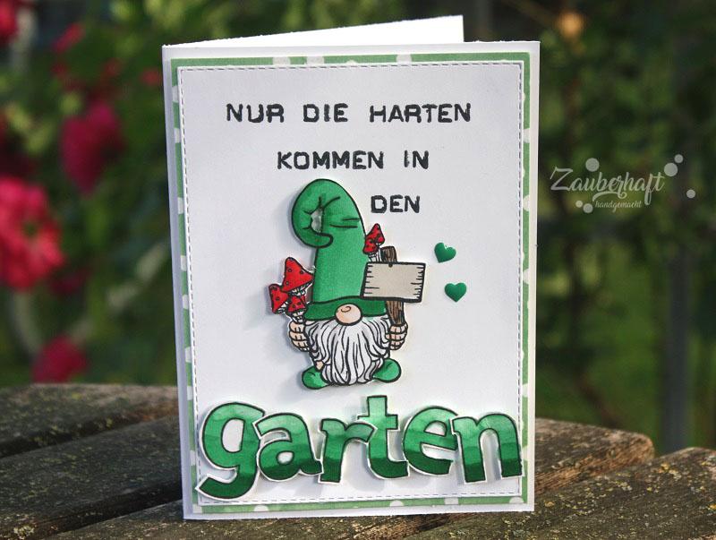 Nur Die Harten Kommen In Den Garten Bedeutung