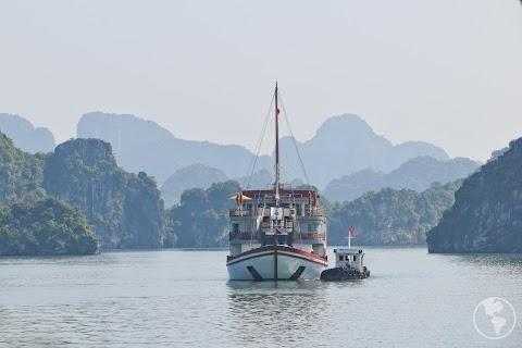 Vietnã | Cruzeiro pela Halong Bay
