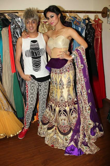 Mouni Roy  shoot rohit verma collection 2.JPG