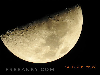 Shooting the Moon with the Nikon COOLPIX P900