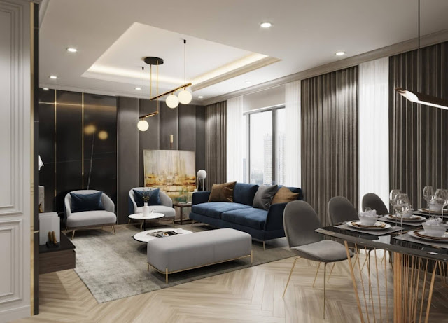 Thiết kế căn hộ dự án Goldmark City