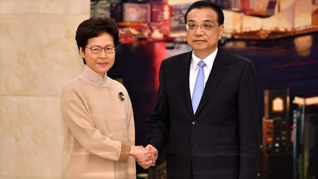 China pide a Hong Kong acabar con violencia por medio de la ley