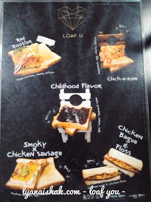 sajian sarapan comel hanya di loaf u georgetown penang , tempat makan menarik di penang , penang food , best breakfast ,