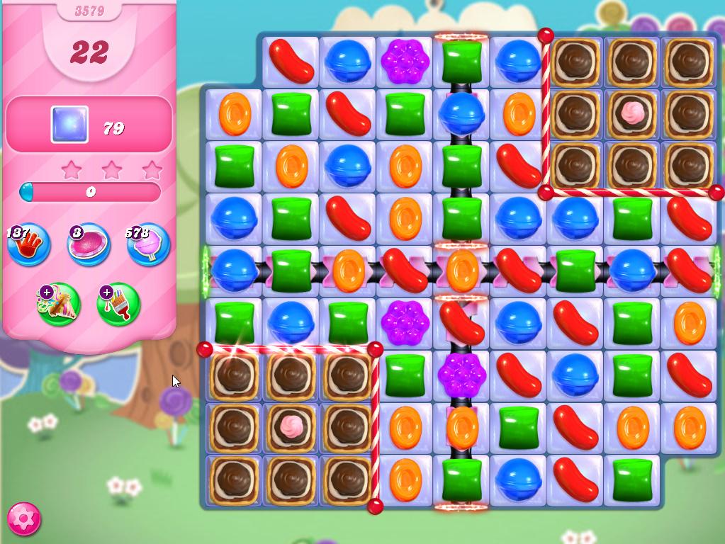 Candy Crush Saga level 3579
