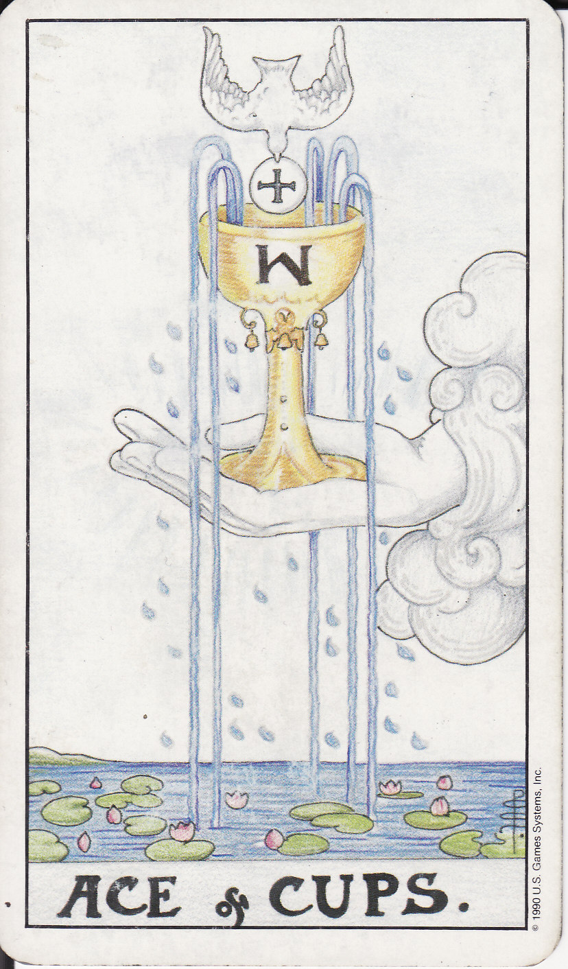 TAROT - The Royal Road: 1 ACE OF CUPS I