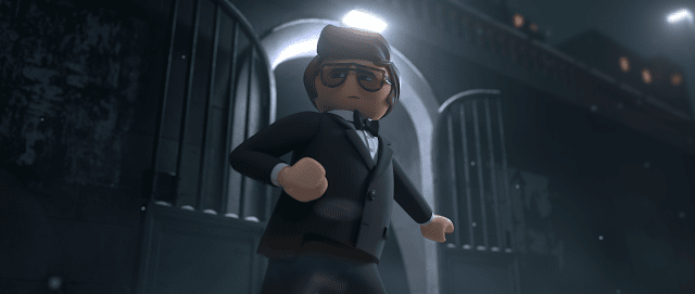 """The name's Dasher, Rex Dasher..."" - Playmobil: The Movie"