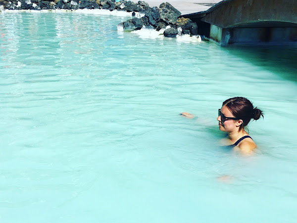 In Icelandic Water: The Steam Valley and The Blue Lagoon