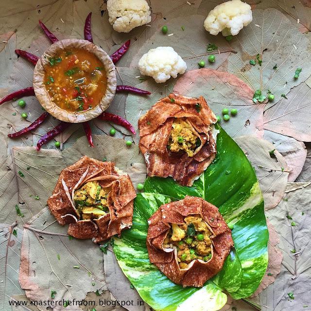Cauliflower Masala Dosai Recipe