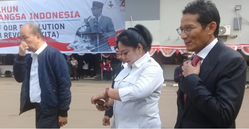 Tidak Diundang Ke Istana, Sandiaga Uno Penuhi Undangan Rachmawati Soekarnoputri