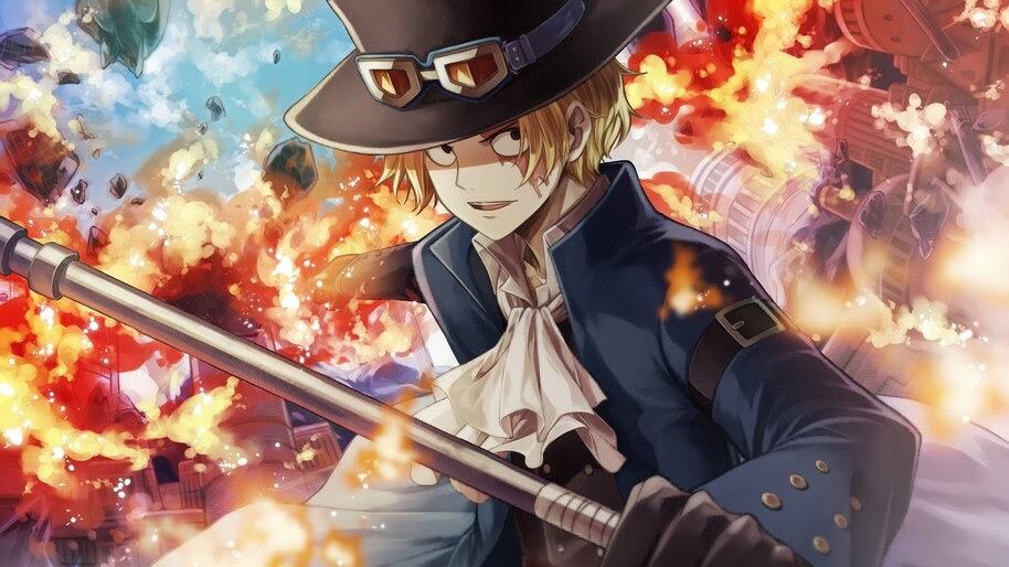 Sabo, Flame, One Piece, 4K, #6.127