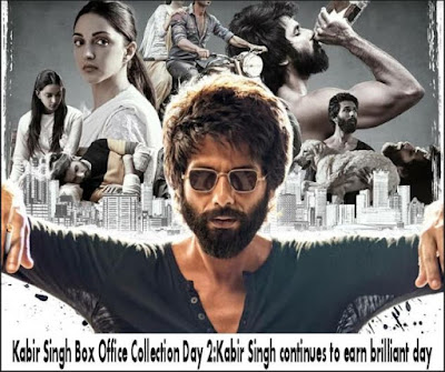 Kabir Singh movie Collection Day 2 broken the record of Padmavati newstracker