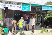 Personil Polsek Alla Kembali Lakukan Patroli Himbauan 3M