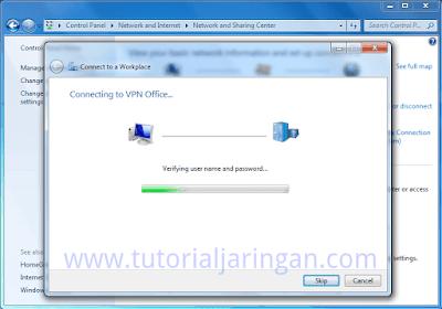 Tutorial Cara Setting VPN di Windows 7