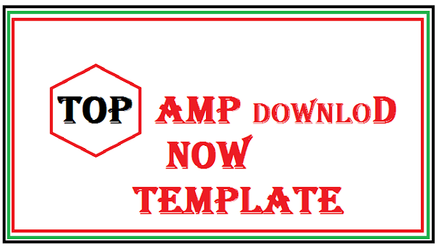 Top 10 Best AMP template for blooger free-Download now
