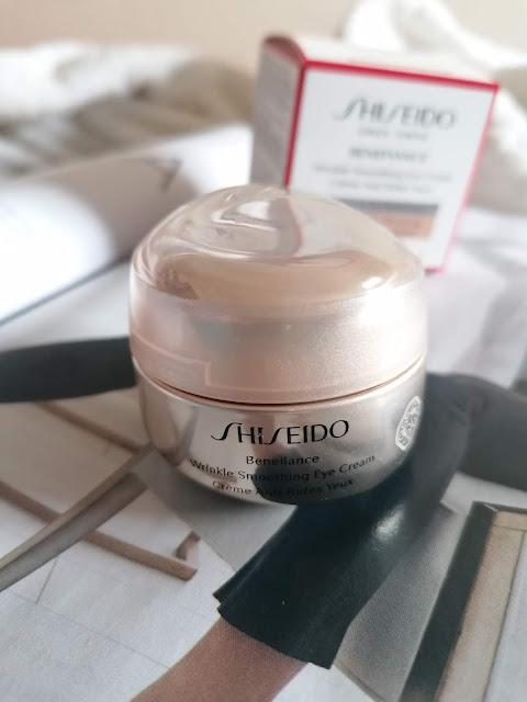 Novo creme olhos shiseido