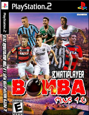 Download - BOMBA PATCH 2017 MATiPLAYER PLUS 1.0 (PS2) Atualizado 03/07/2016