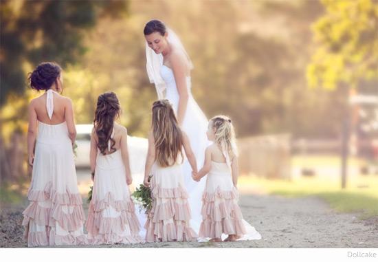 Bondville: Dollcake Australian Boho Flower Girl Dresses