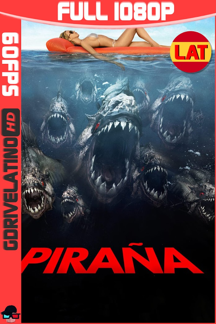 Piraña 3D (2010) BDRip 1080p (60fps) Latino-Ingles MKV