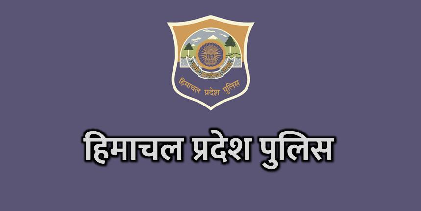 HP Police Logo on Blue background