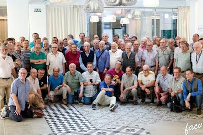 Ajedrecistas participantes en el XV Campeonato de España de Ajedrez de Veteranos