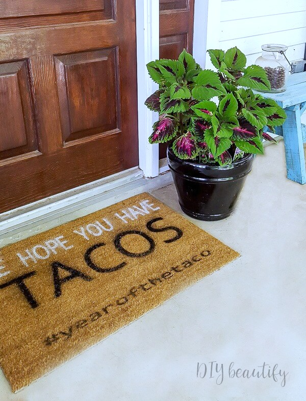 taco placemat
