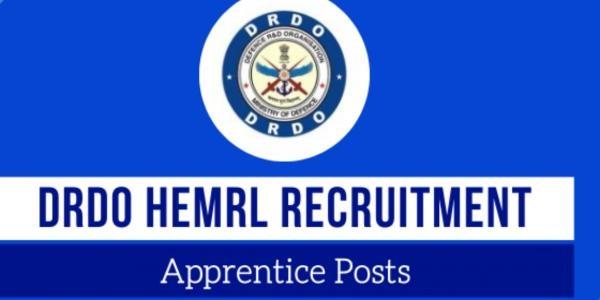HEMRL Recruitment 2021