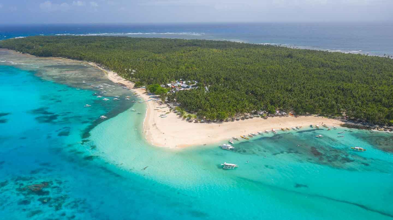 Daku Island Philippines Aerial Shot