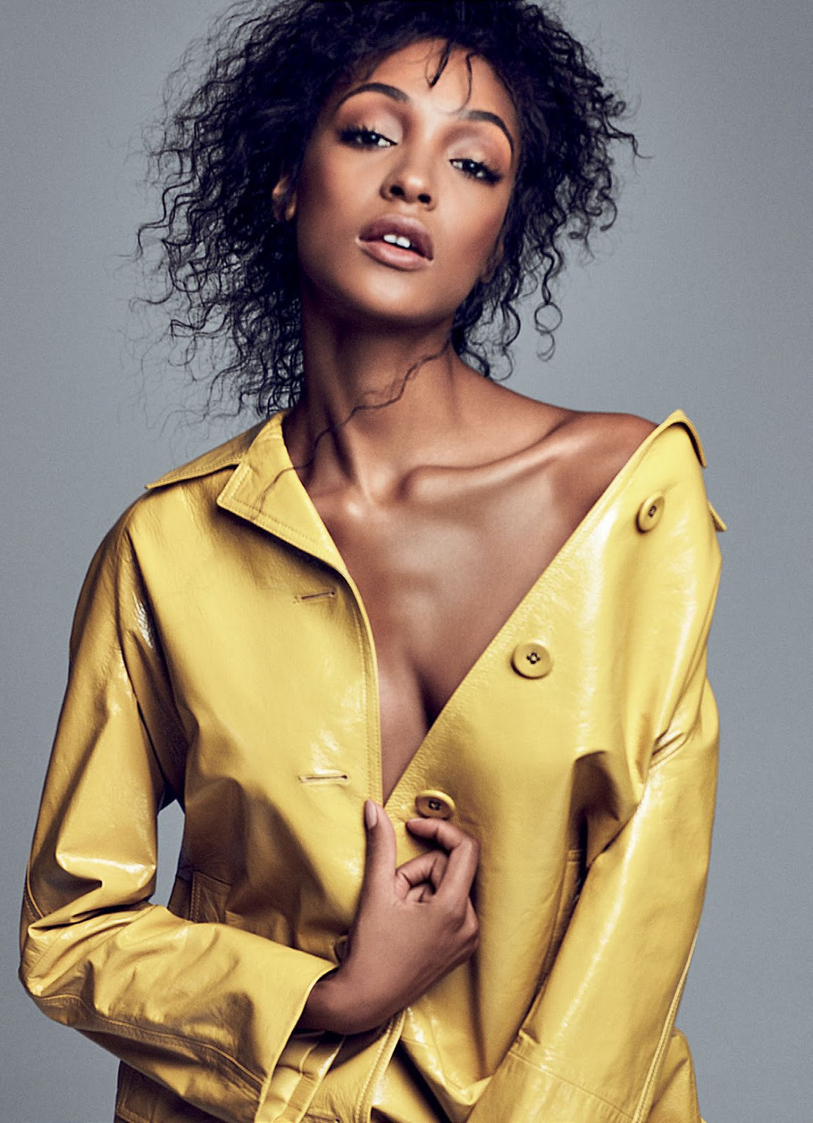 Smile: Jourdan Dunn in Elle Brazil October 2016 by Mark ...