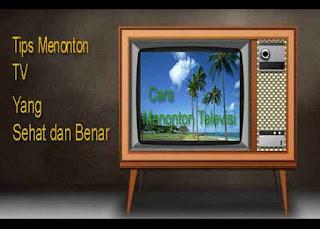 Cara Menonton Televisi