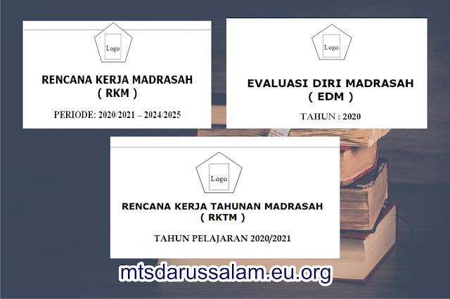 EDM, RKM, RKTM Tingkat MI, MTs Dan MA