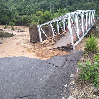 Gubernur Langsung Koordinasi ke Kementerian PUPR Pinjam Jembatan Darurat