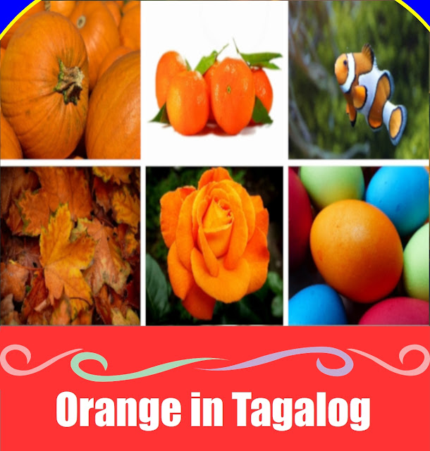 Orange in Tagalog