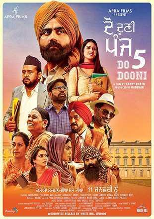 Do Dooni Panj 2019 Full Punjabi Movie Download pDVDRip
