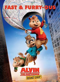 Poster Of Hollywood Film Watch Online Alvin and the Chipmunks The Road Chip 2015 Full Movie Download Free Watch Online 300MB