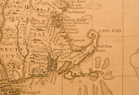Map of colonial Massachusetts