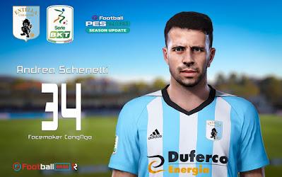 PES 2021 Faces Andrea Schenetti by CongNgo