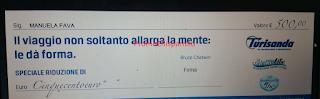 Logo Altra vincita con Thè San Benedetto: voucher Turisanda da 500 euro
