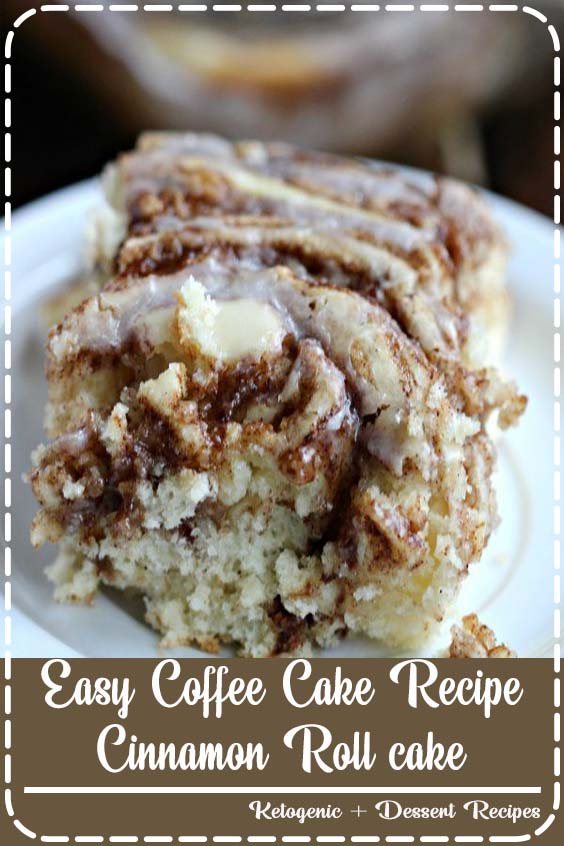 This easy cinnamon roll cake recipe is the best Easy Coffee cake recipe - Cinnamon Roll cake