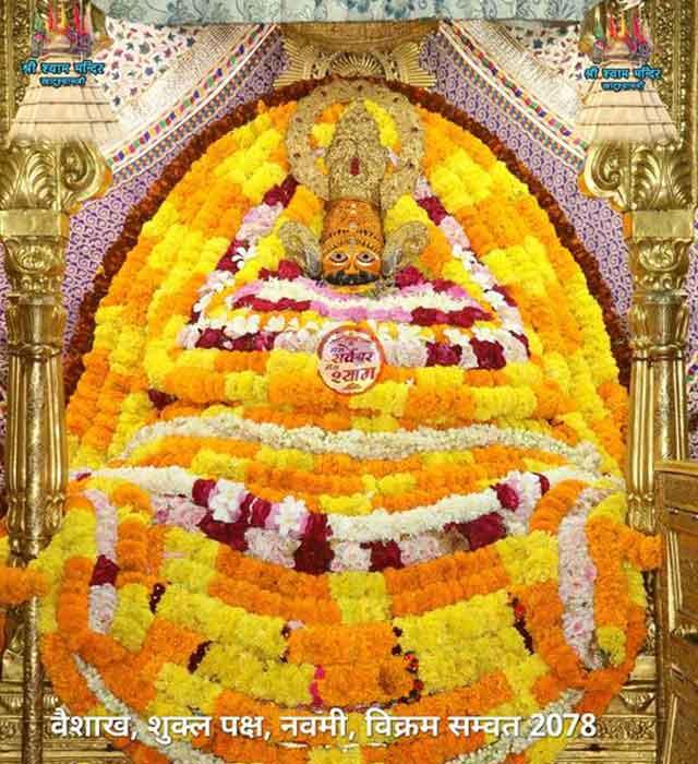 khatu shyamji ke aaj 21 may 2021 ke darshan